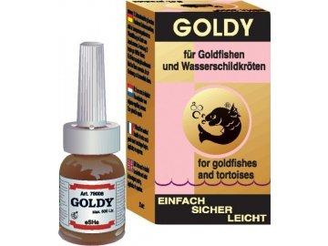 eSHa Přípravek GOLDY 500 ml přípravek na čištění a  oživení vody pro zlaté rybky a pro želvy nemoci ryb nemoci želv