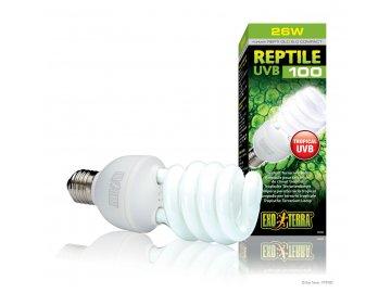 zarivka reptile 100 25w kompaktni uvb exo terra hagen 622