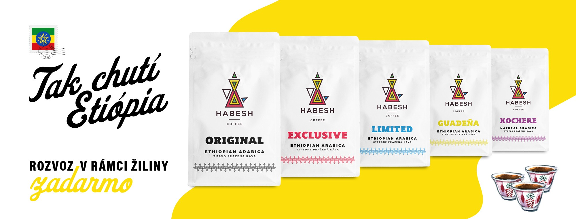 Produkty Habesh Coffee