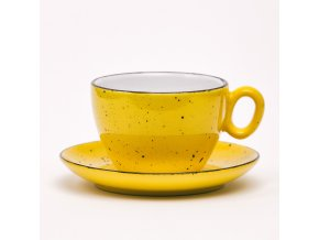 Latte XL šálka - žltá