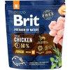 Brit Premium by Nature Dog Junior M 1 kg