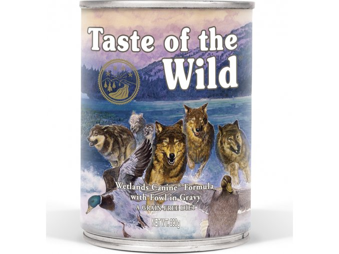Taste of the Wild Wetlands konzerva 390g