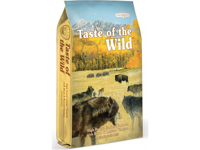 Taste of the Wild High Prairie pečený bizon a jehněčí 2kg