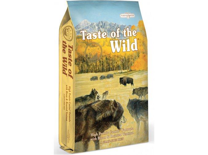 Taste of the Wild High Prairie pečený bizon a jehněčí 5,6kg