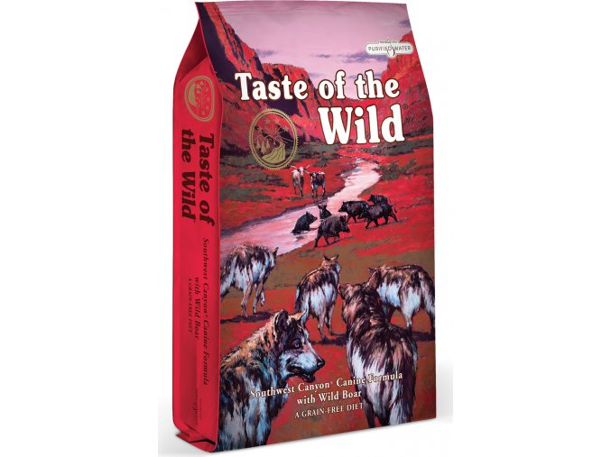 Taste of the Wild Southwest Canyon Canine hovězí a divočák 5,6kg