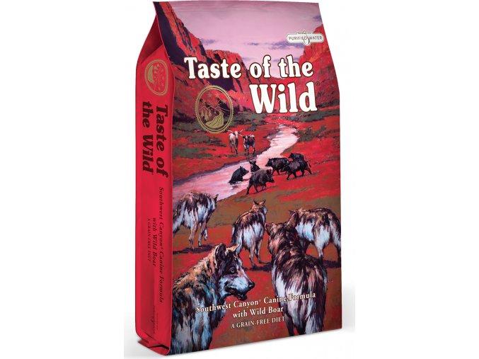 Taste of the Wild Southwest Canyon Canine hovězí a divočák 12,2kg