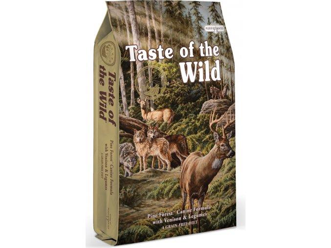 Taste of the Wild Pine Forest zvěřina a jehněčí 5,6kg