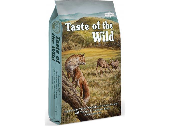 Taste of the Wild Appalachian Valley zvěřina a jehněčí 5,6kg
