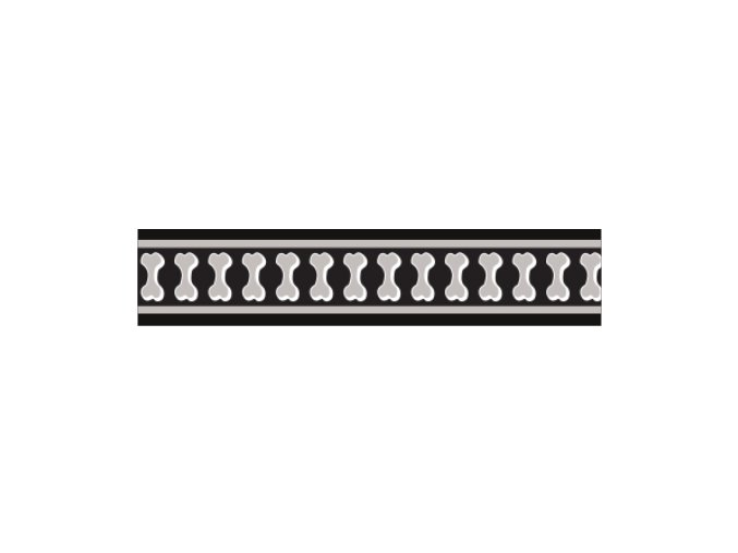 Ob. pol. RD 25 mm x 41-62 cm - Bones Rfx - Černá
