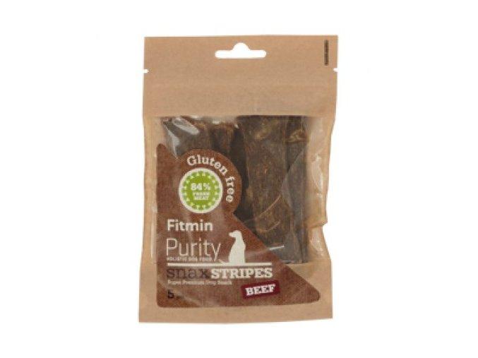 Fitmin dog Purity Snax STRIPES beef 5 ks