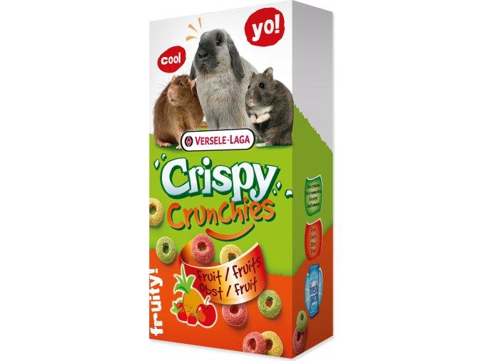 Pochoutka VERSELE-LAGA Crispy Crunchies s ovocem 75g