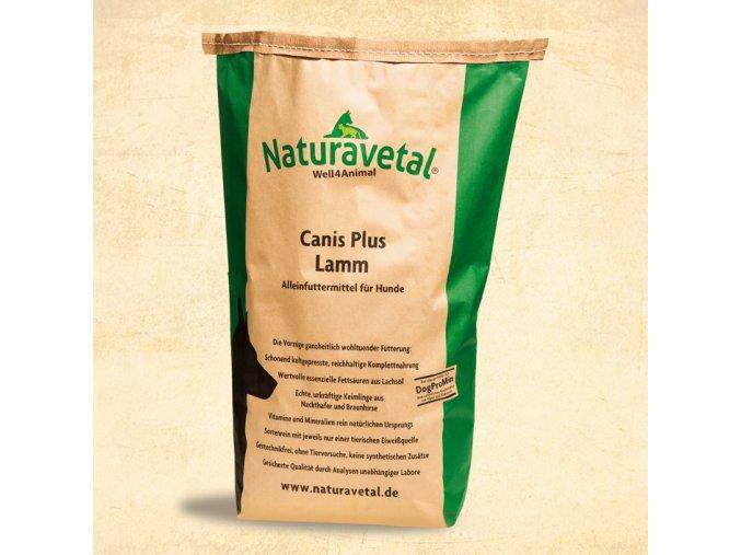 Naturavetal CANIS PLUS jehněčí maso a rýže