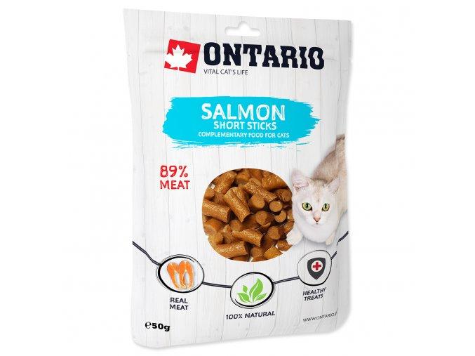 ONTARIO Salmon Short Sticks 50g