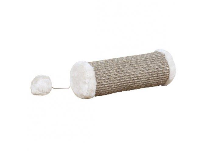 Škrábací válec s kuličkou na gumičce 10 x 28 cm