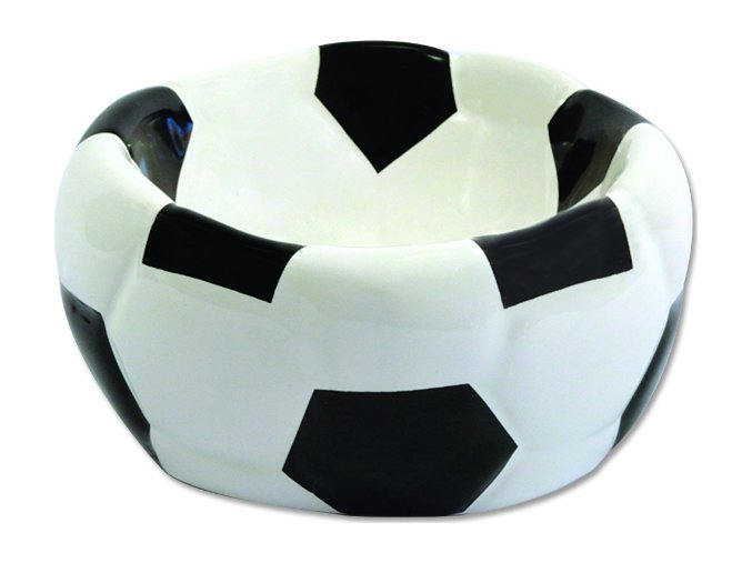 Miska DOG FANTASY keramická fotbalový míč 15 cm 270ml