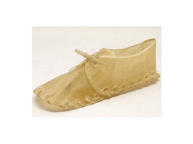 Bota z buvolí kůže 20cm