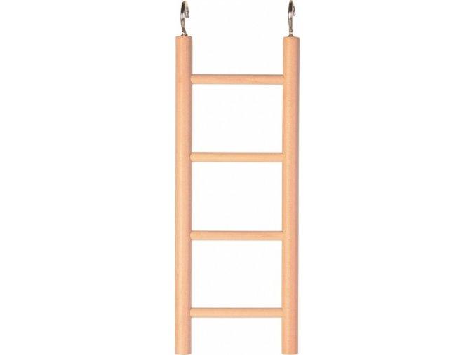 Dřevěný závěsný žebřík 4 příčky 20cm