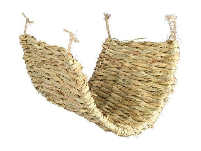 Houpačka/podložka z trávy pro osmáky a krysy 40 x 28 cm