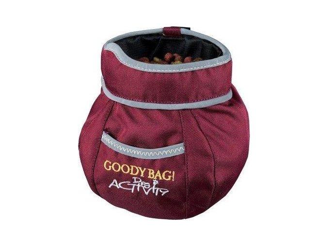 DOG ACTIVITY GOODY sáček na pamlsky 11x16 cm mix barev