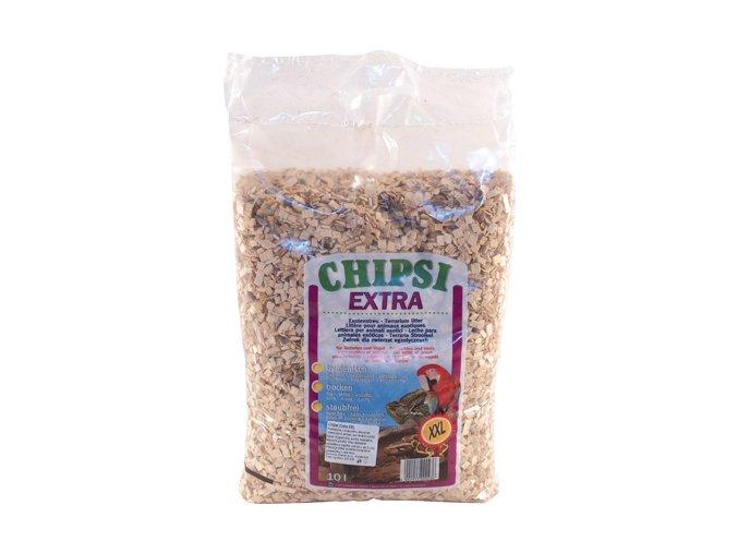 CHIPSI EXTRA XXL 10 L / 3 kg dřevěné štěpky z bukového dřeva