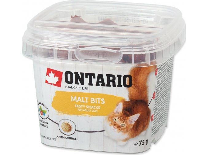 Snack ONTARIO Cat Malt Bits 75g