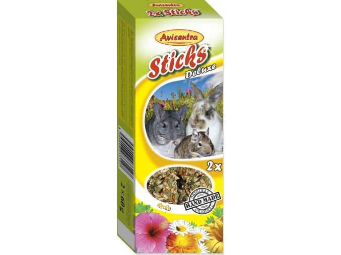 Avicentra tyčinky velký hlodavec - bylinky 2ks