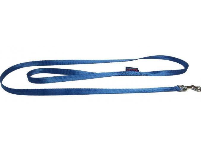 Vodítko 1,2 m jednobarevné GIGANT modrý