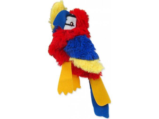 Hračka MAGIC CAT Skinneeez papoušek 20 cm 1ks