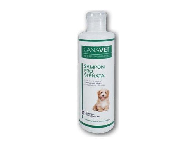 CANAVET šampon pro štěňata s antipar.přísadou Canabis 250 ml