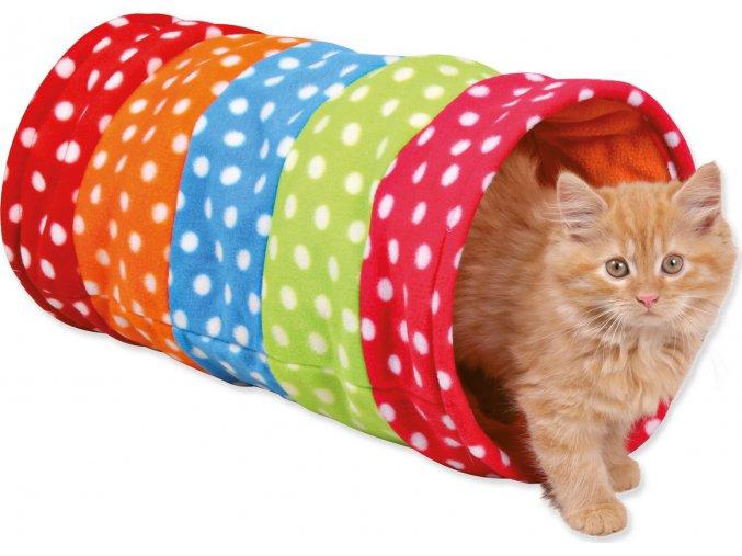 Hračka TRIXIE tunel na hraní barevný 50 cm 1ks