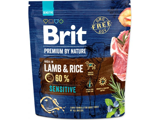 Brit Premium by Nature Dog Sensitive Lamb 1 kg