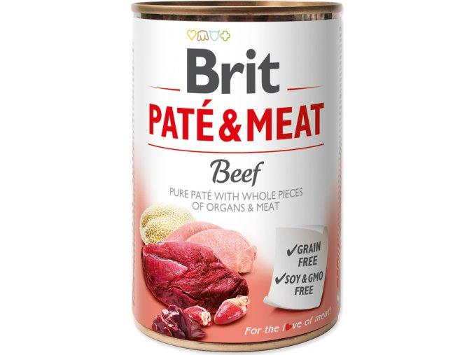 Brit Dog konz Paté & Meat Beef 400g
