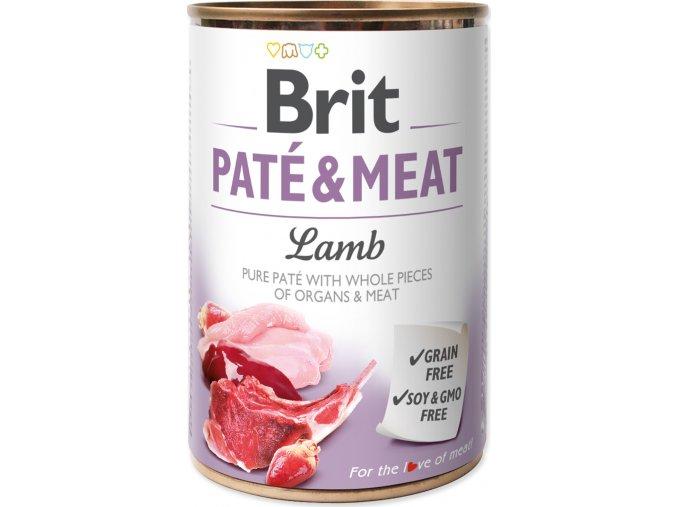 Brit Dog konz Paté & Meat Lamb 400g
