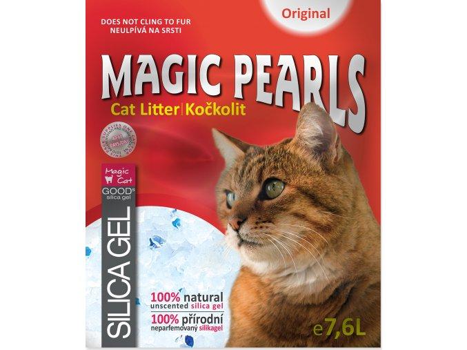 Kočkolit MAGIC PEARLS Original 7,6l