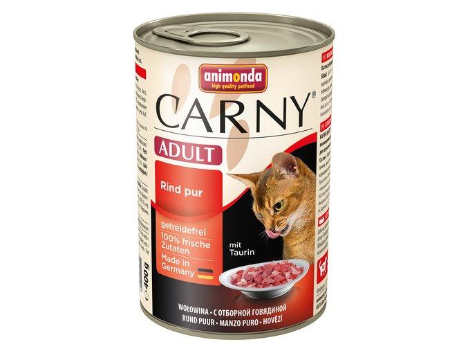 ANIMONDA konzerva CARNY Adult - hovězí 400g