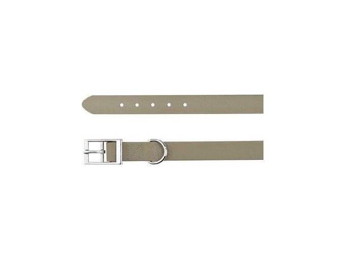 -Easy Life obojek PVC M 35-43 cm/20 mm taupe-šedý
