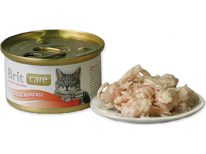 Brit Care Cat konz. - Chicken Breast 80 g