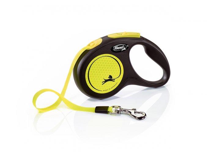 flexi New Neon S Tape 5m yellow