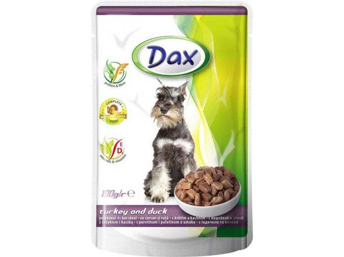Dax kapsa DOG HOVĚZÍ A KRÁLÍK 100g