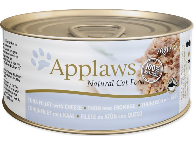 Konzerva APPLAWS Cat Tuna Fillet & Cheese 70g