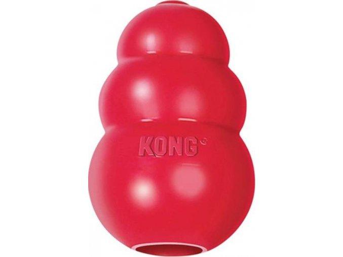 Hračka guma pro malá zvířata Kong červená