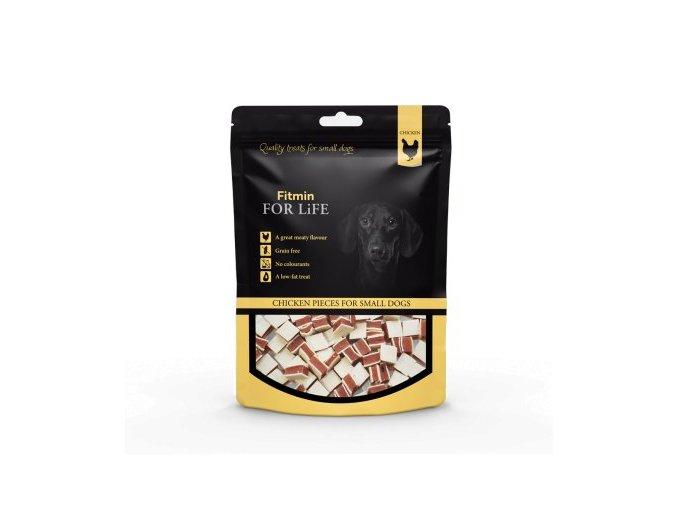 FFL dog&cat treat chicken pieces 70g