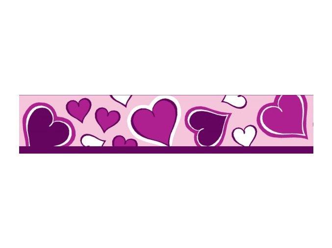 Obojek RD 20 mm x 30-47 cm - Breezy Love Purple