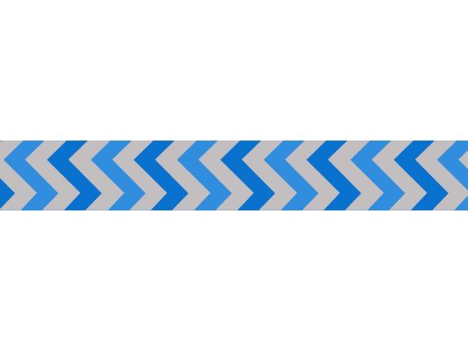 Obojek RD 20 mm x 30-47 cm - Ziggy Rfx - Stř.Modrá