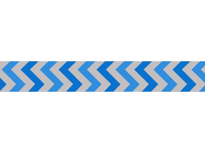 Obojek RD 25 mm x 41-63 cm - Ziggy Rfx - Stř.Modrá