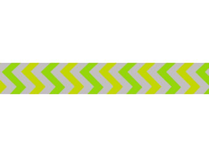 Obojek RD 25 mm x 41-63 cm - Ziggy Rfx - Limetková