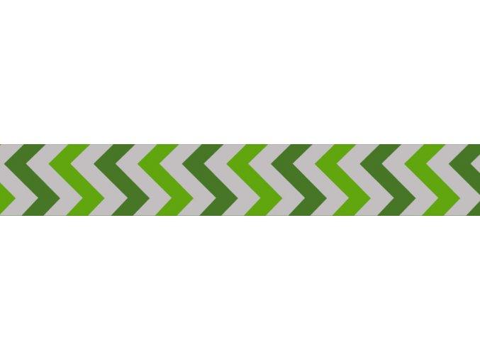 Obojek RD 15 mm x 24-37 cm - Ziggy Rfx - Zelená