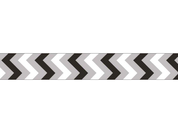 Obojek RD 15 mm x 24-37 cm - Ziggy Rfx - Černá