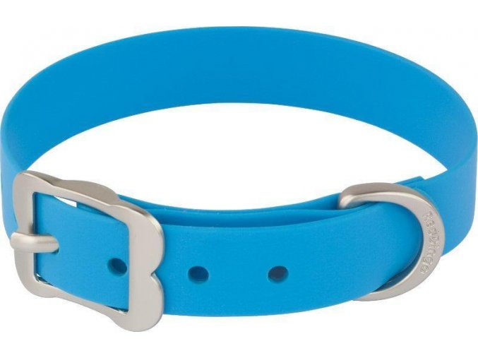 Obojek RD Vivid 12 mm x 20-25 cm - Modrá