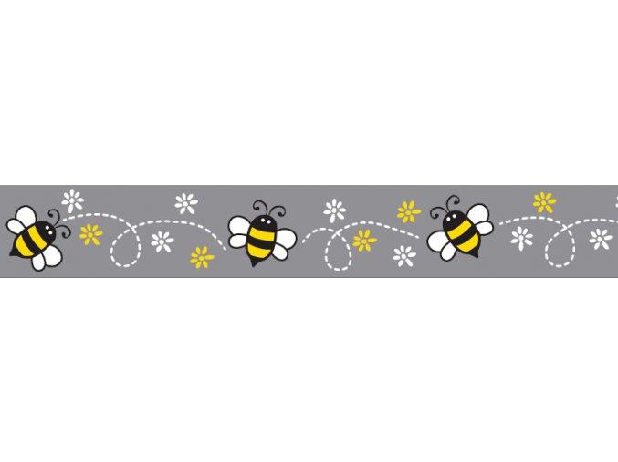 Obojek RD 20 mm x 30-47 cm - Bumble Bee Black
